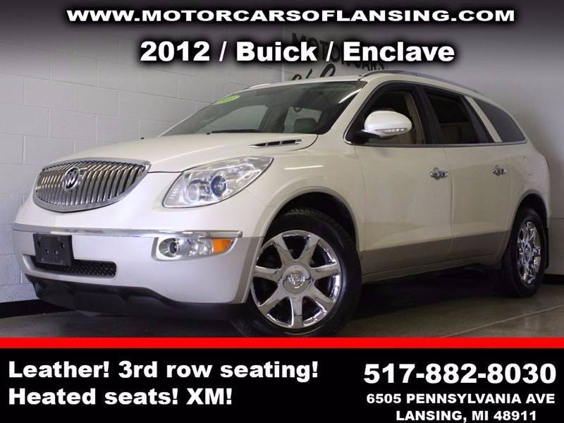 2010 BUICK ENCLAVE CXL AWD 4DR SUV W1XL white  3 month 3000 mile limited powertrain warranty