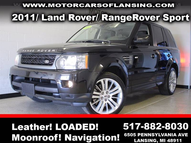 2011 LAND ROVER RANGE ROVER SPORT HSE 4X4 4DR SUV black  3 month 3000 mile limited powertrain w