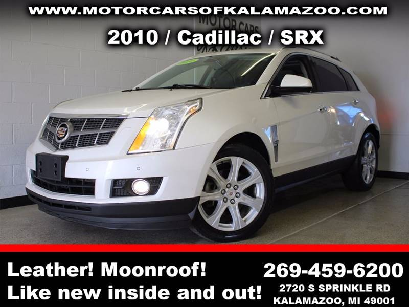 2010 CADILLAC SRX PERFORMANCE COLLECTION AWD 4DR S white sunroof leather wow this vehicle is loa