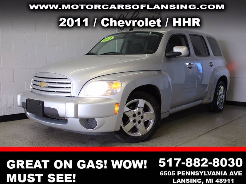 2011 CHEVROLET HHR LT 4DR WAGON W1LT silver  3 month 3000 mile limited powertrain warranty is