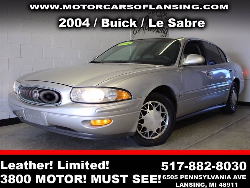 2004 BUICK LESABRE LIMITED 4DR SEDAN silver  3 month 3000 mile limited powertrain warranty is
