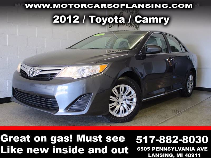 2012 TOYOTA CAMRY L 4DR SEDAN charcoal  3 month 3000 mile limited powertrain warranty is avail
