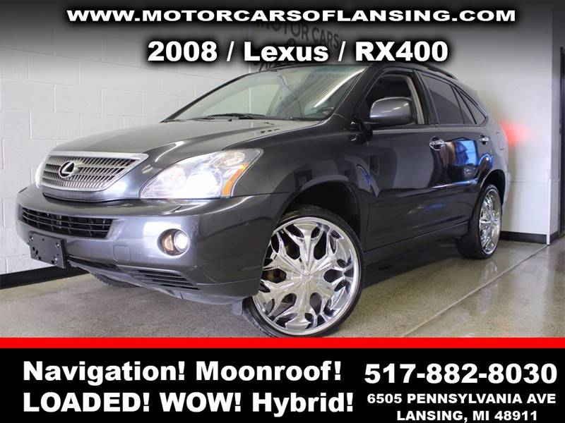 2008 LEXUS RX 400H BASE AWD 4DR SUV charcoal feel confident where you travel in this vehicle with