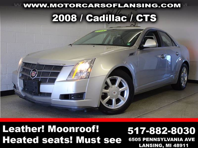 2008 CADILLAC CTS 36L V6 AWD 4DR SEDAN silver drive comfortably this winter with heated seats