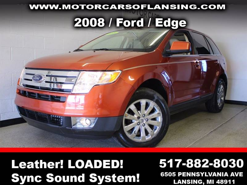 2008 FORD EDGE LIMITED 4DR SUV orange  3 month 3000 mile limited powertrain warranty is availa