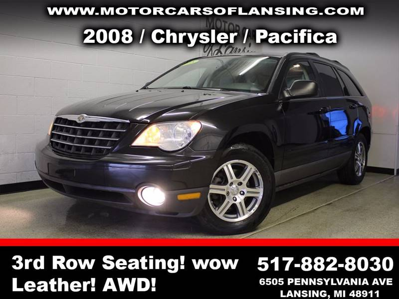 2008 CHRYSLER PACIFICA TOURING AWD 4DR WAGON black  3 month 3000 mile limited powertrain warra