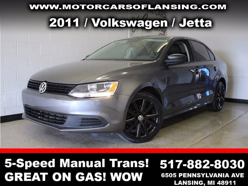 2011 VOLKSWAGEN JETTA BASE 4DR SEDAN 5M charcoal guaranteed credit approval  all customers are we