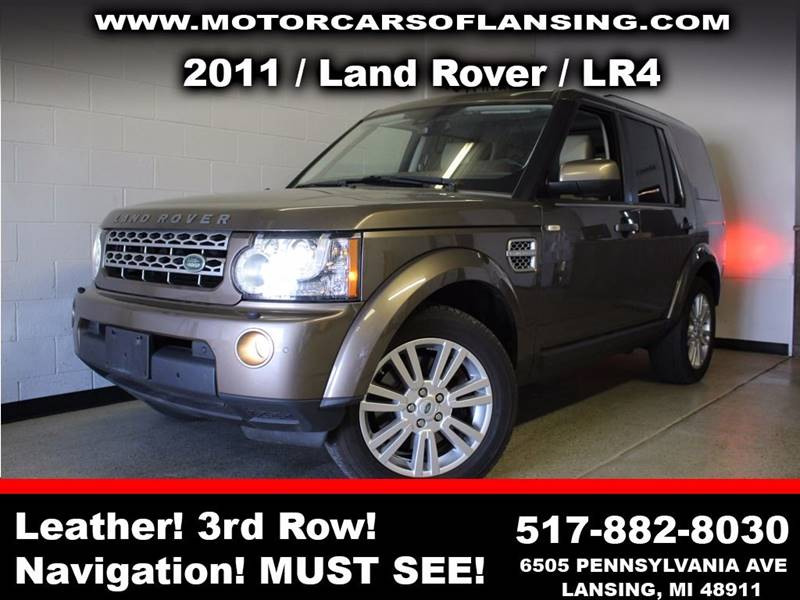 2011 LAND ROVER LR4 BASE 4X4 4DR SUV brown feel confident where you travel in this vehicle with t