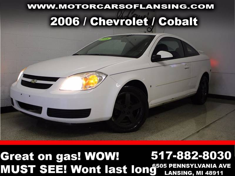 2006 CHEVROLET COBALT LT 2DR COUPE white truly a must see vehicle with its extra clean interior a