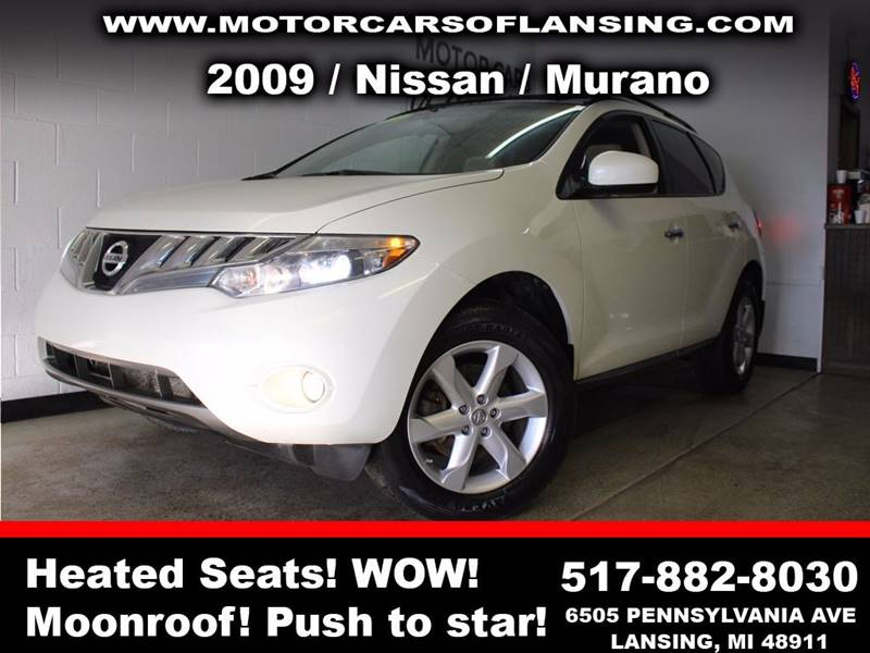 2009 NISSAN MURANO S AWD 4DR SUV white moonroof  all customers are welcome to perform an inspect