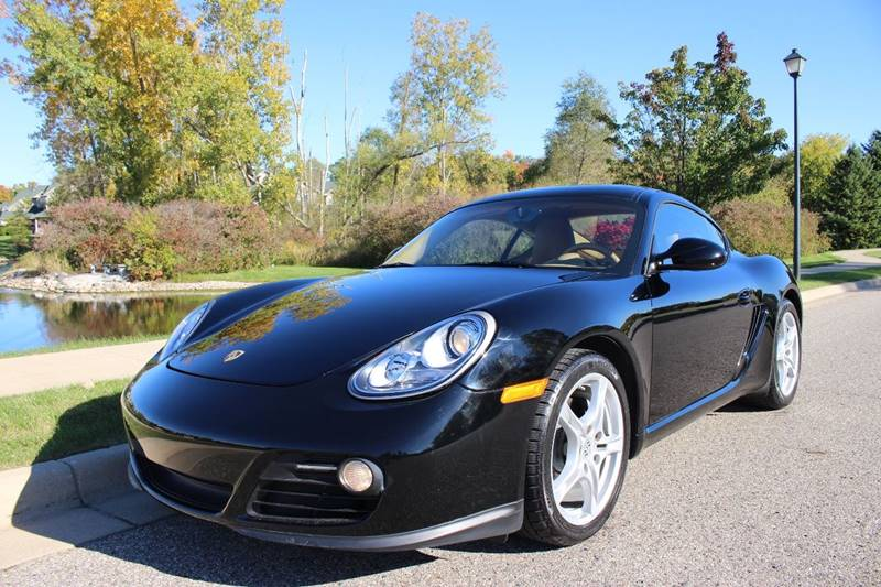 2009 PORSCHE CAYMAN BASE 2DR COUPE black completely inspected and serviced ready to go excellen
