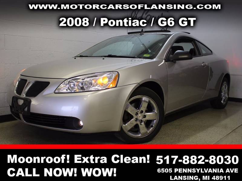 2008 PONTIAC G6 GT 2DR COUPE silver be sure to check back soon for details on this vehicle motor