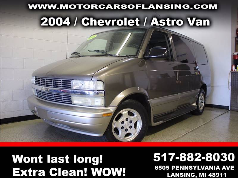 2004 CHEVROLET ASTRO LT 3DR EXTENDED MINI VAN pewter super clean interior giving you the new car