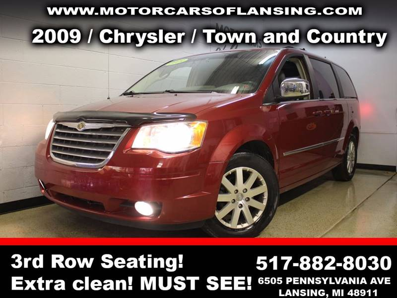 2009 CHRYSLER TOWN AND COUNTRY TOURING MINI VAN 4DR burgundy all customers are welcome to perform