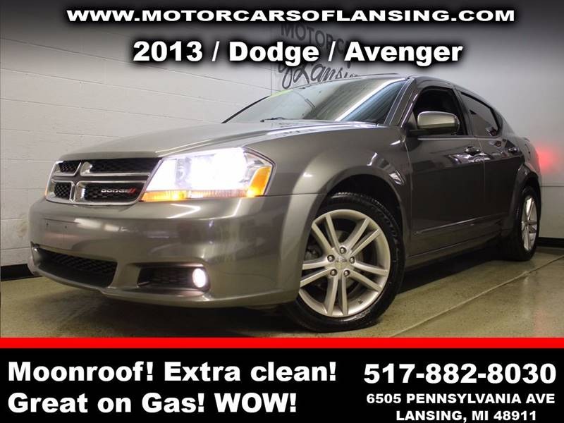 2013 DODGE AVENGER SXT 4DR SEDAN charcoal all customers are welcome to perform an inspection on o