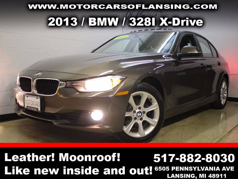 2013 BMW 3 SERIES 328I XDRIVE AWD 4DR SEDAN charcoal sunroof leather wow this vehicle is loaded