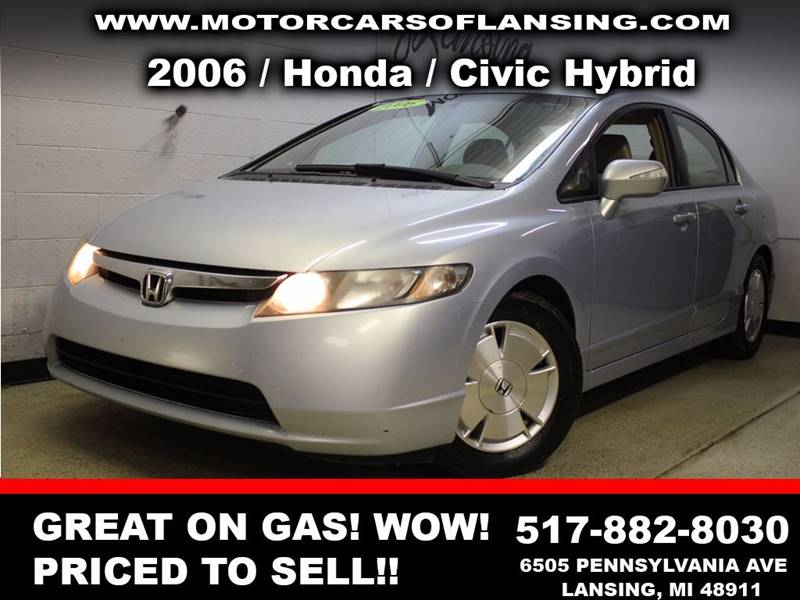 2006 HONDA CIVIC HYBRID 4DR SEDAN blue all customers are welcome to perform an inspection on our