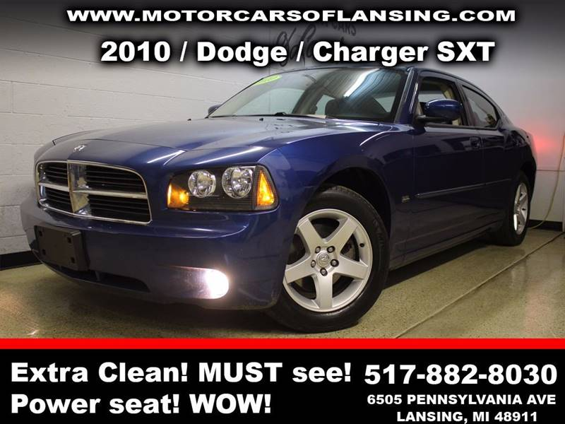 2010 DODGE CHARGER SXT 4DR SEDAN blue all customers are welcome to perform an inspection on our ve