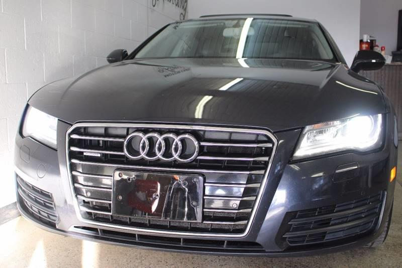 2012 AUDI A7 30T QUATTRO PREMIUM AWD 4DR SED charcoal sunroof leather wow this vehicle is load