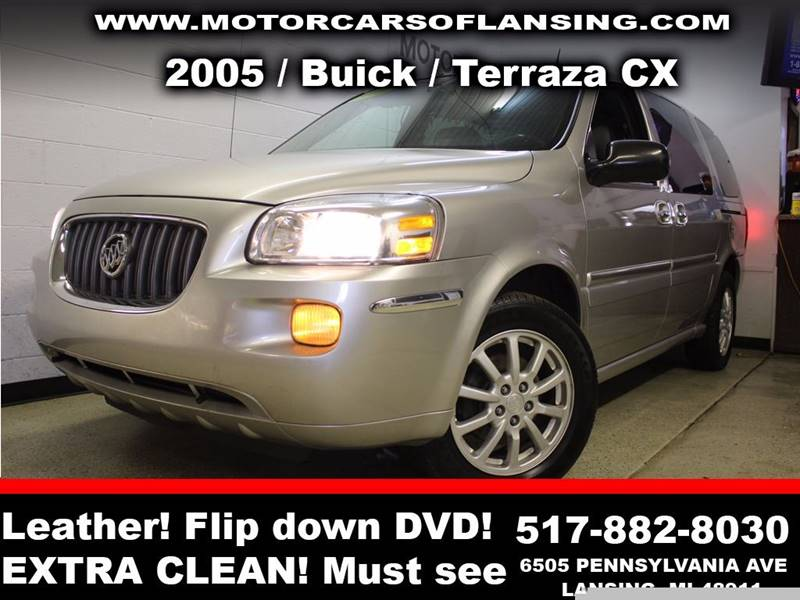 2005 BUICK TERRAZA CX 4DR MINI VAN silver leatherall customers are welcome to perform an inspect