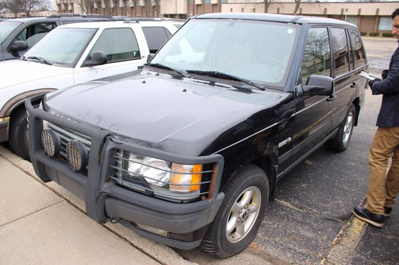 2000 LAND ROVER RANGE ROVER 40 SE AWD 4DR SUV black brush guard - front trailer hitch front ai