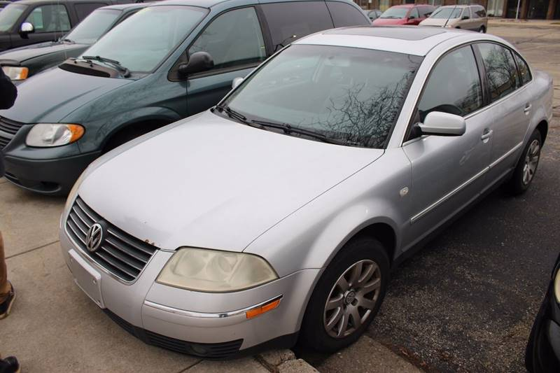 2003 VOLKSWAGEN PASSAT GLS 18T 4DR TURBO SEDAN silver front air conditioning center console cr