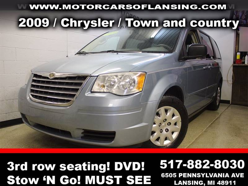 2009 CHRYSLER TOWN AND COUNTRY LX MINI VAN 4DR teal guaranteed credit approval  all customers are