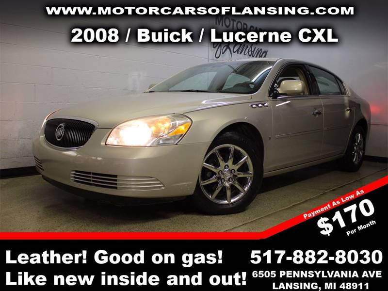 2008 BUICK LUCERNE CXL 4DR SEDAN beige all customers are welcome to perform an inspection on our