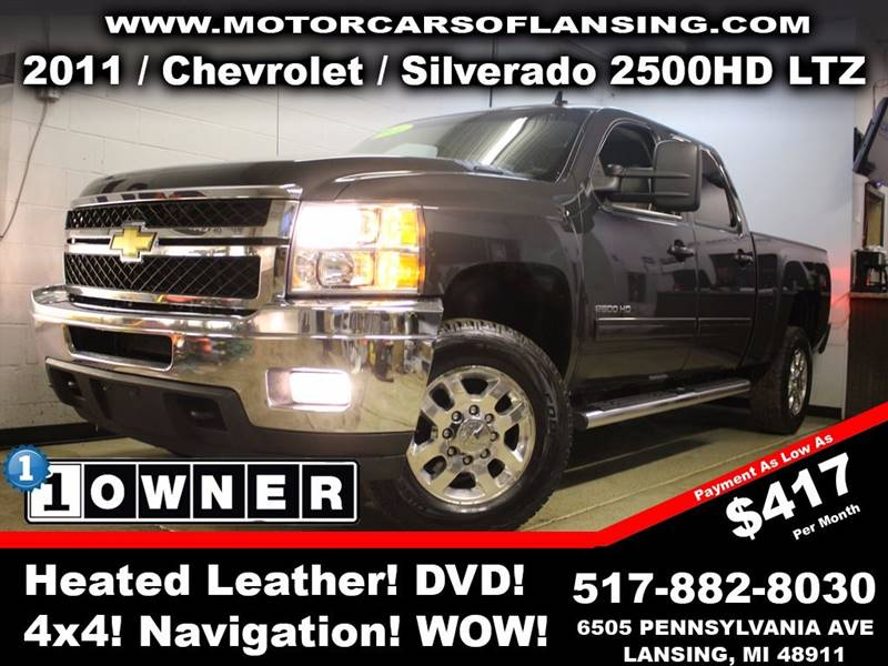 2011 CHEVROLET SILVERADO 2500HD LTZ 4X4 4DR CREW CAB SB charcoal rather youre on or off road thi