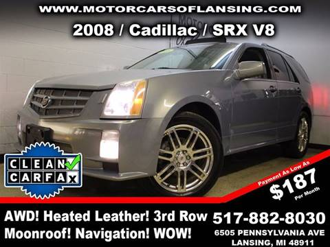 2008 Cadillac SRX for sale in Lansing, MI