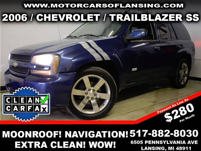 2006 CHEVROLET TRAILBLAZER LT 4DR SUV 4WD blue feel confident where you travel in this vehicle wi