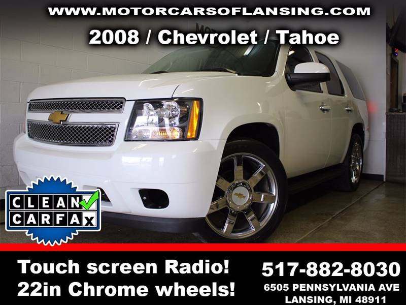2008 CHEVROLET TAHOE POLICE 4X2 4DR SUV white call slade directly at 888-239-9980 with any questi
