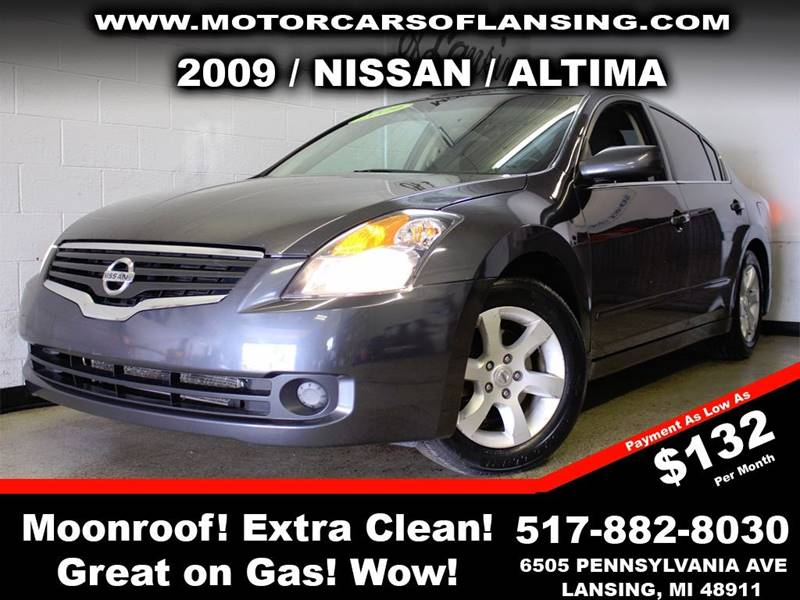 2009 NISSAN ALTIMA 25 4DR SEDAN gray here at motorcars all of our vehicles undergo a rigorous 1
