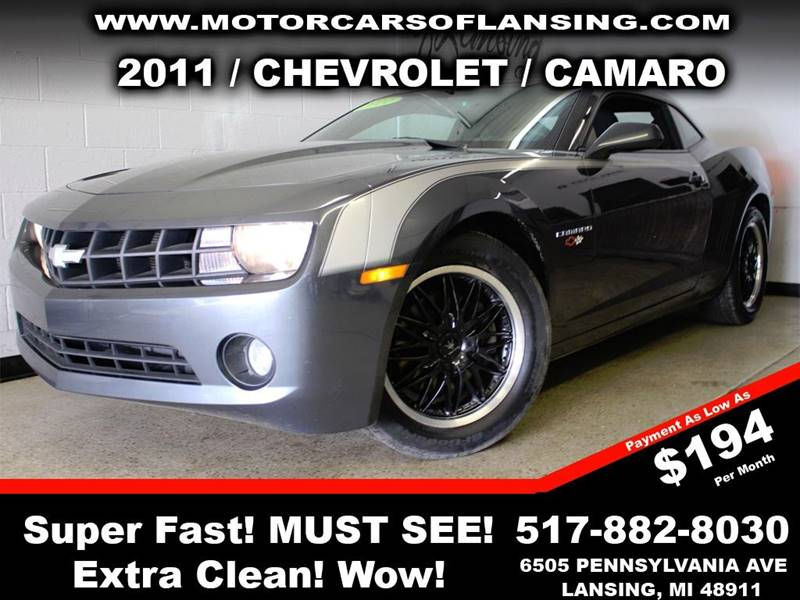 2011 CHEVROLET CAMARO LS 2DR COUPE gray truly a must see vehicle with its extra clean interior an