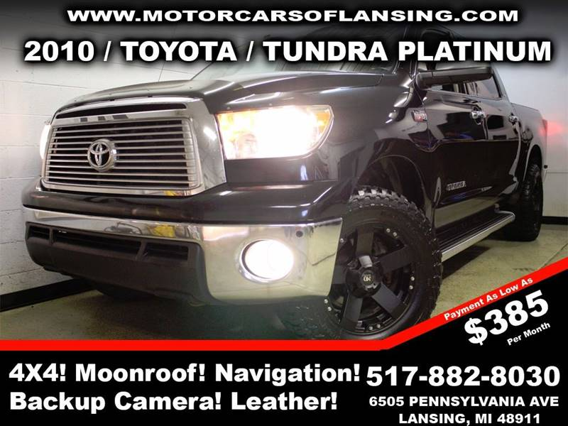 2010 TOYOTA TUNDRA LIMITED 4X4 4DR CREWMAX CAB PICK black rather youre on or off road this vehic