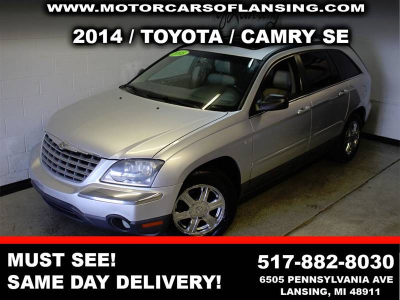 2005 CHRYSLER PACIFICA TOURING AWD 4DR WAGON silver leatherloaded third row seating moonroof