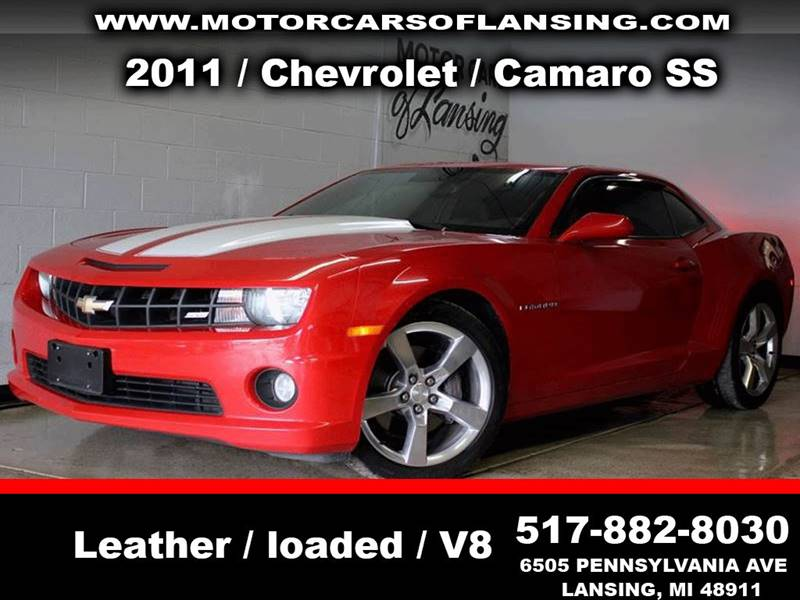 2011 CHEVROLET CAMARO SS 2DR COUPE W1SS red be sure to check back soon for details on this vehic