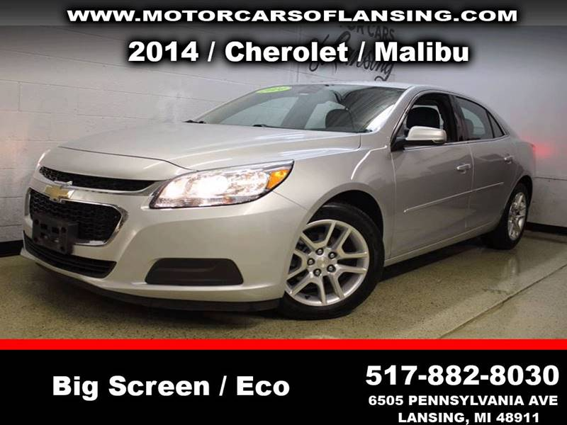 2014 CHEVROLET MALIBU LT 4DR SEDAN W1LT silver never back into anything again this vehicle is e