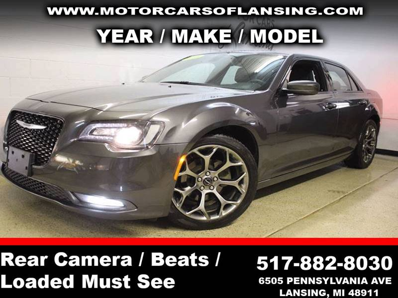 2016 CHRYSLER 300 S 4DR SEDAN gray never back into anything again this vehicle is equipped with