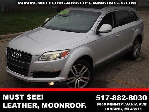 2008 Audi Q7 for sale in Kalamazoo, MI