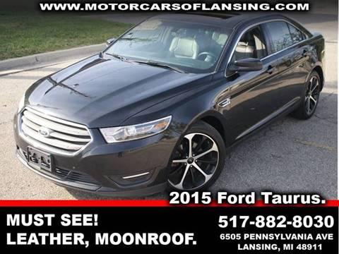 2015 Ford Taurus for sale in Kalamazoo, MI