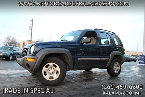 2002 Jeep Liberty for sale in Kalamazoo, MI