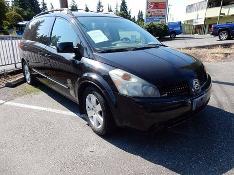 2005 Nissan Quest for sale in Seattle, WA