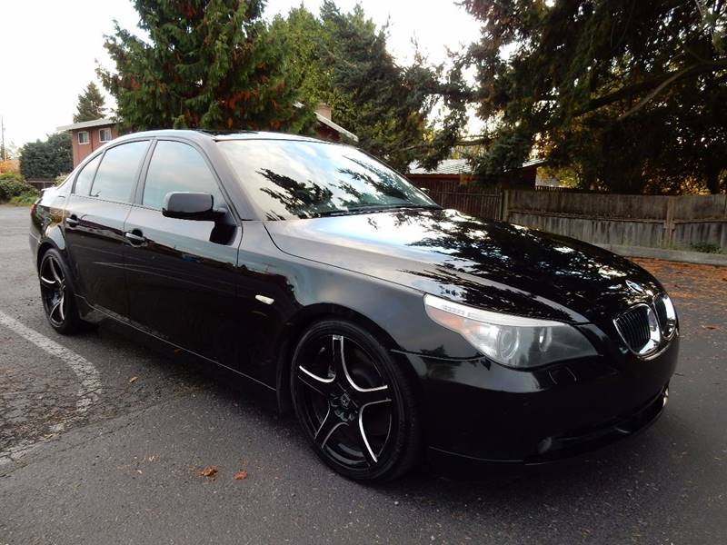 2007 BMW 5 Series for sale at INTEGRITY AUTO SALES LLC in Seattle WA