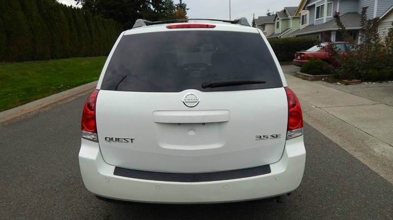 2004 Nissan Quest 3.5 SE 4dr Mini-Van - Seattle WA