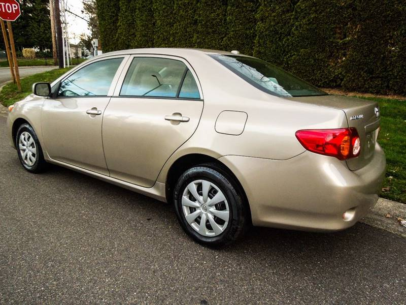 2010 Toyota Corolla LE 4dr Sedan 4A - Seattle WA