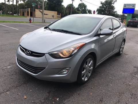 2011 Hyundai Elantra for sale at BSS AUTO SALES INC in Eustis FL