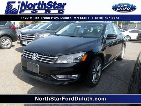 2014 Volkswagen Passat for sale in Duluth, MN