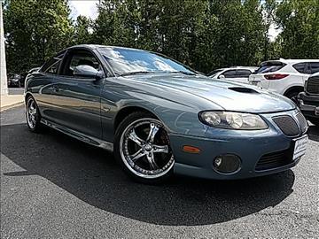 2006 Pontiac GTO for sale in Pasadena, MD