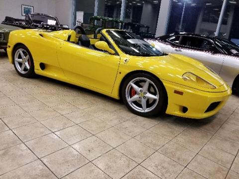 Ferrari 360 Spider For Sale - Carsforsale.com®